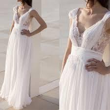 discount cheap wedding dresses designer 2017 a line chiffon robe