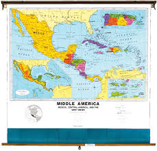 Political Map Of Central America by Central America Political Map