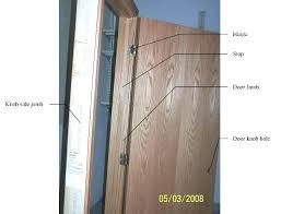 Installing Exterior Door Jamb How To Replace A Door Frame Front Door Jamb Doors With Sidelights