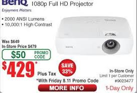 black friday 1080p projector fry u0027s email exclusive benq ht1070 1080p dlp w sport mode theater