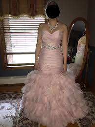 show me your blush pink wedding dresses weddingbee