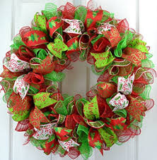 mesh christmas wreaths christmas wreath christmas decoration mesh outdoor