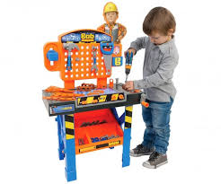 kids work bench twoinone wooden toys baby kids multicolor puzzle