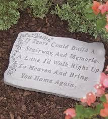 memorial stepping stones best 25 memorial garden stones ideas on memorial
