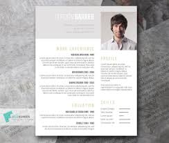 Free Professional Resume Template Design The Best Cv Resume Templates 50 Examples Design Shack Indesign