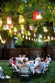 Backyard Birthday Party Ideas Backyard Birthday Party Ideas Christmas Lights Decoration