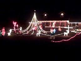 mr christmas lights gone wild 2010 in blanchard oklahoma part 1