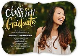 graduation announcements chic alumni 5x7 stationery graduation invitations shutterfly
