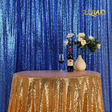 8ftx8ft royal blue sequin backdrops glitter sequin curtain wedding photo booth backdrop photography