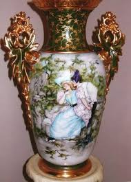 Blue Vase Story A Single Mark Reveals Story And Value Of Limoges Vase The
