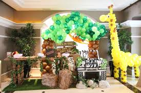 jungle theme birthday party kara s party ideas welcome table from a jungle animals birthday