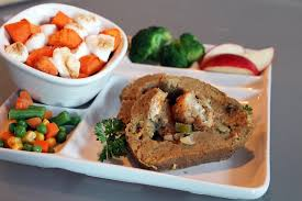 vegan stuffed seitan roast with gravy thanksgiving
