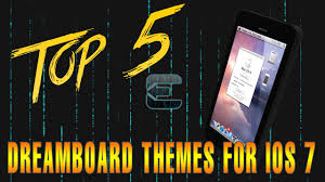 best dreamboard themes for iphone 6 top 5 dreamboard themes for ios 7 evasi0n jailbreak youtube