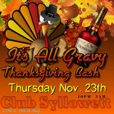 it s all gravy thanksgiving bash in indianapolis at club