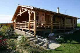 maison ossature bois réf 4 près de cadours en haute garonne 31