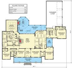 House Plans With Three Car Garage Luxurious Acadian House Plan With Optional Bonus Room 56410sm