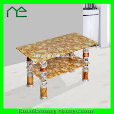 living room centre table glass top center table design on