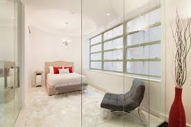 Tribeca Bedroom Furniture by Tribeca Condo With Two Voyeuristic Glass Enclosed Bedrooms Asks