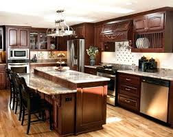decorating ideas for kitchen islands small kitchen designs with island image of custom kitchen island