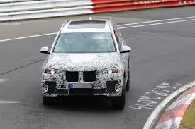 2018 bmw x7 hits the nurburgring prototype tilts like a bavarian