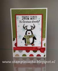 snow place u0027 stampin u0027 up my stampin u0027 up christmas projects