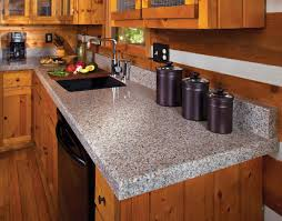 Rustic Kitchen Furniture Pairing Rustic Kitchen Cabinets With Granite Countertops For