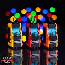 custom built lego tree ornaments by chris mcveigh