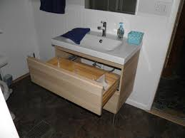 Pull Out Drawers For Bathroom Vanity Fantastic Bathroom Vanities And Sinks Ikea Using Integrated Basin