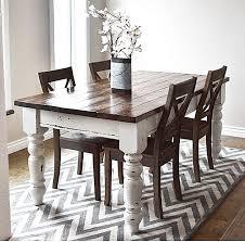 round table for 20 farm style dining tables best 20 farmhouse table ideas on pertaining