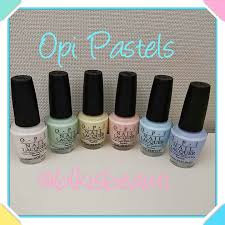 new opi 2016 soft shades pastels nail polish haul youtube