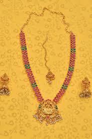 gold jewellery necklace sets images Necklaces buy designer necklace set online at craftsvilla jpg-1
