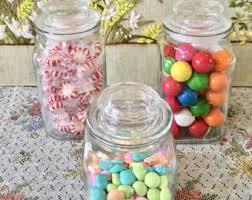 Candy Buffet Apothecary Jars by Vintage Candy Buffet Containers Etsy