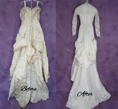 wedding dress restoration wishes to be buried in restored wedding dress