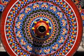costa rica san jose decorated oxcart david sanger photography