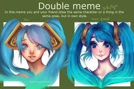 Double Meme - double meme by maryfraser on deviantart