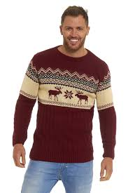mens jumpers sweater pullover novelty classic retro