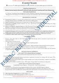 System Analyst Sample Resume Free Resume Samples Free Cv Template Download Free Cv Sample