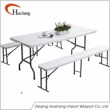 metal folding table outdoor 6ft cheap outdoor table folding with metal folding legs plastic