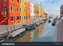 Burano Italy Color Houses Venice Island Burano Italy Stock Photo 78154879
