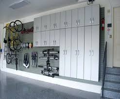 Garage Shelving System by Garage Storage Wall And Cabinets Click For Larger Photogarage