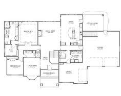 Blueprints For Houses With Basements - rambler house plans with basements legendary model 3 bedroom