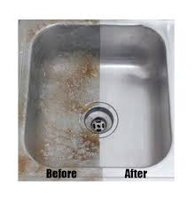 how to polish stainless steel sink siege clean stainless steel aluminum powder cleaner polish sink