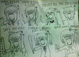 Meme All The Things - horror game girls x all the things meme by eri rein on deviantart