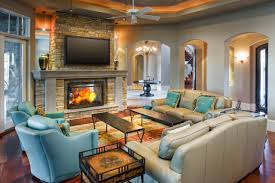 fireplace stone fireplace mantels in traditional living room with