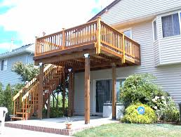 cedar deck with rails westwinds remodelingwestwinds remodeling