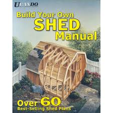 Lowes Outdoor Sheds by Shop Build Your Own Shed Manual At Lowes Com