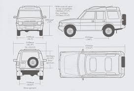 land rover drawing land rover discovery 1996 blueprint download free blueprint for