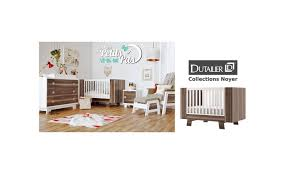 Crib Convertible by Dutailier Walnut Pomelo Crib Convertible 3 In 1