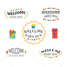 welcome baby boy baby shower design baby boy arrival postcards
