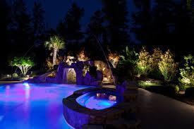 low voltage lighting near swimming pool low voltage landscape lighting